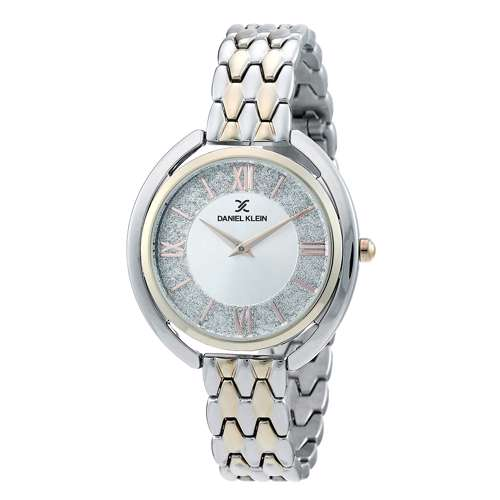 Stainless Steel Womens''s Two Tone Rose Watch - DK.1.12290-3