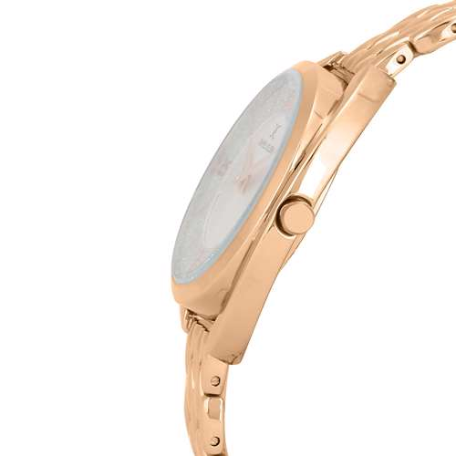 Stainless Steel Womens''s Rose Gold Watch - DK.1.12290-5