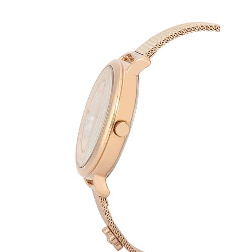 Mesh Band Womens''s Rose Gold Watch - DK.1.12291-2