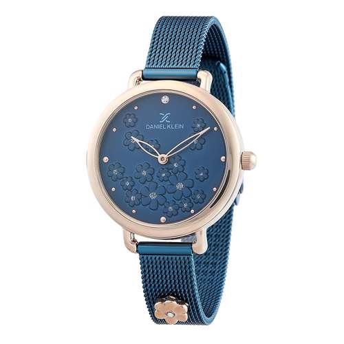 Mesh Band Womens''s Blue Watch - DK.1.12291-5
