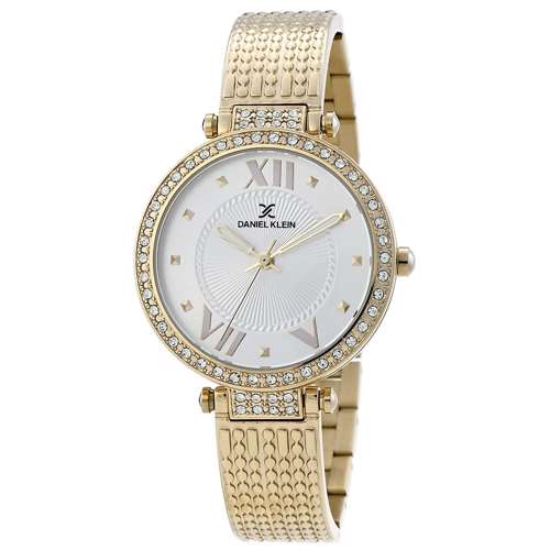 Stainless Steel Womens''s Gold Watch - DK.1.12293-2