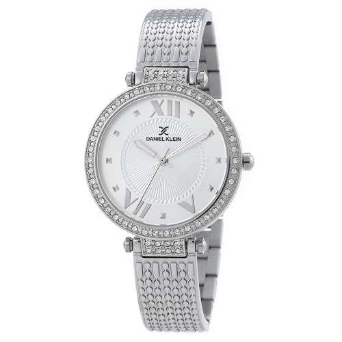 Stainless Steel Womens''s Silver Watch - DK.1.12293-4