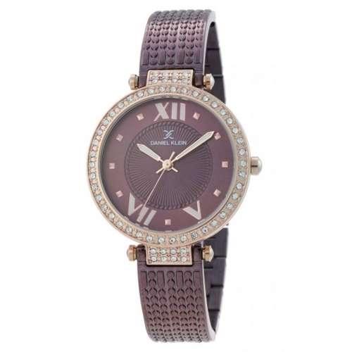 Stainless Steel Womens''s Purple Watch - DK.1.12293-6