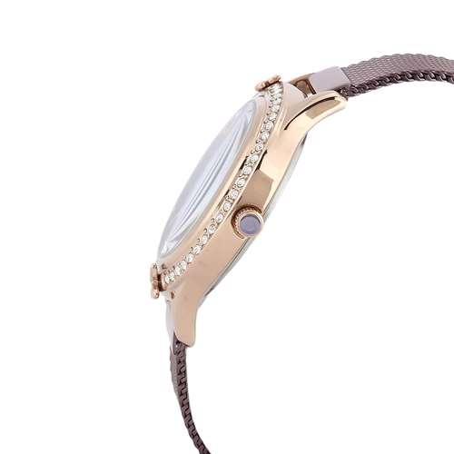 Mesh Band Womens''s Purple Watch - DK.1.12295-6