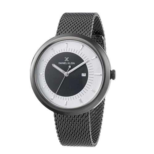 Mesh Band Mens''s Black Watch - DK.1.12296-4