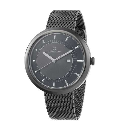 Mesh Band Mens''s Black Watch - DK.1.12296-5