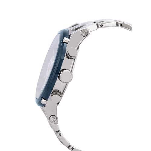 Stainless Steel Mens''s Silver Watch - DK.1.12297-3