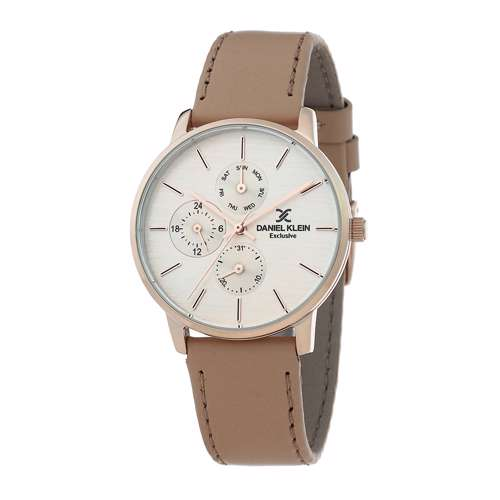Leather Womens''s Creem Watch - DK.1.12298-3