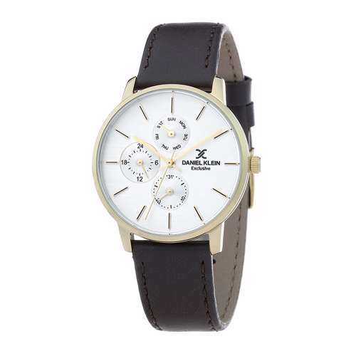 Leather Womens''s Brown Watch - DK.1.12298-4