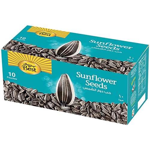 Best Sunflower Seeds Pouch 25gm-10Pcs/Box