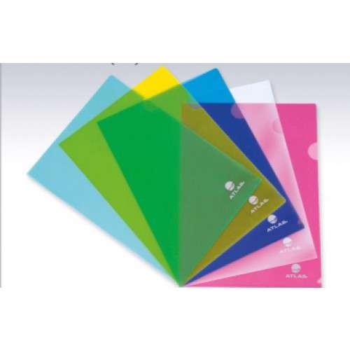 Atlas A4 Size L-Weld Folder Clear-12 Pcs/Pkt
