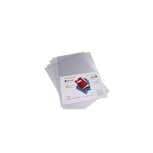 Atlas A4 Size Pvc Binding Sheet 180Mic-100 Pcs/Pkt