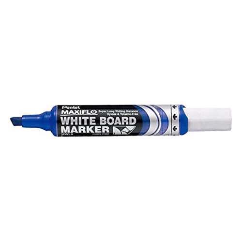 Pentel Maxiflo White Board Marker-12 Pcs/Pkt