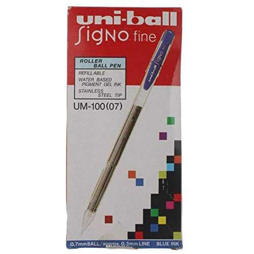 Uni-Ball Uni Signo Roller Pen-12 Pcs/Pkt