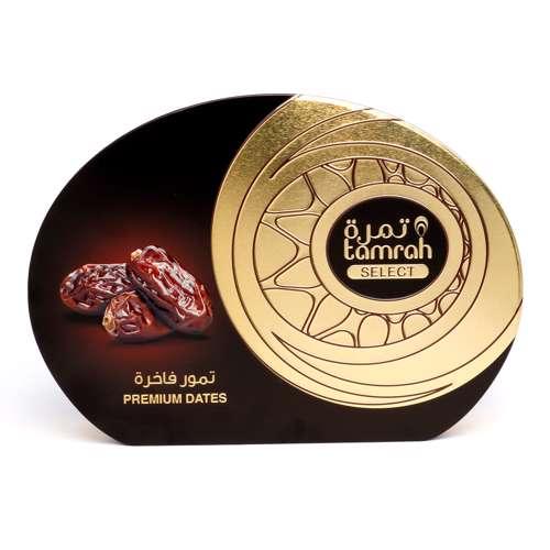 Tamrah Select Premium Khudari Plain Date Tin 322 Gm