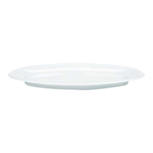 MPC Plastic PP Oval Tray White V7- 150pcs