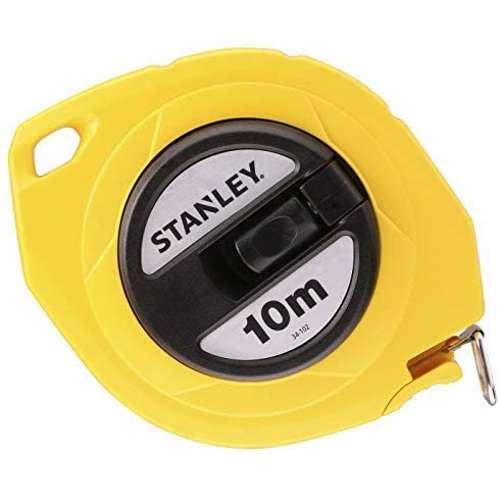 Stanley 0-34-102 Closed Case Steel Blade M. Tape 10Mx10mm Metric