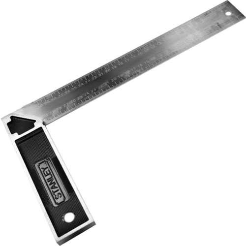 Stanley E-46536 Try Square Cast Zinc Handle 300mm