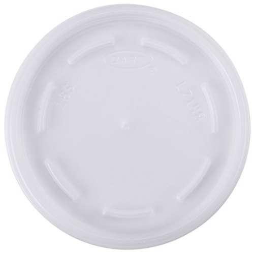 MPC Foam PP Lid 72 Dia. - C-Half Clear - 1000pcs