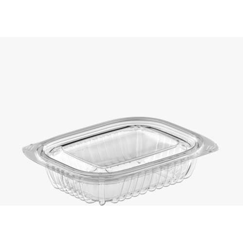 MPC PET Clear Rectangular Container 12oz (145x122x50.6) With Lid - 250pcs
