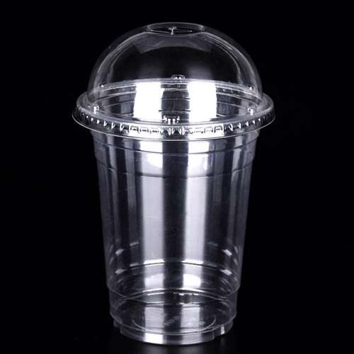 MPC PET Juice Cup Clear With Dome Lid 88.5mm -12oz- 1000pcs