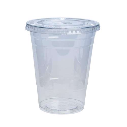 MPC PET Juice Cup Clear With Flat Lid 88.5mm -12oz- 1000pcs