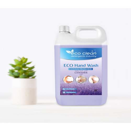 Eco Clean Hand Wash Lavender - 5L