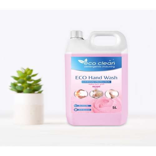 Eco Clean Hand Wash Rose (Pink) - 5L