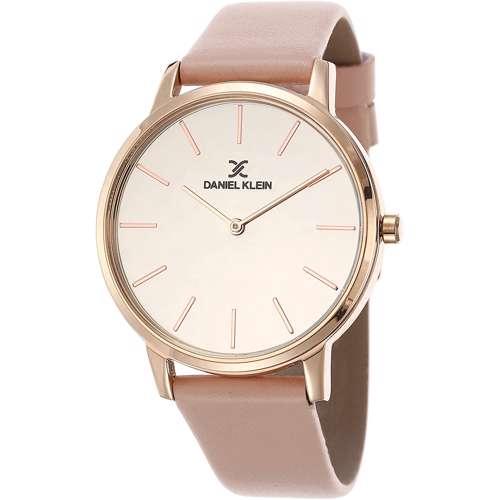 Leather Womens''s Beige Watch - DK.1.12270-5