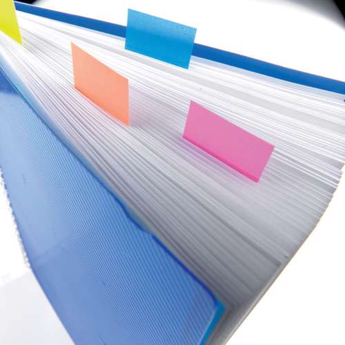 3M 680 6 Post-It Flags - White 1x1.7, 50 Sheets