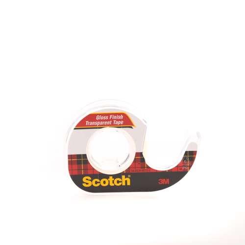 3M 144 Scotch Transparent Tape With Dispenser