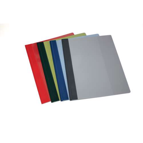 Durable 2715-10 Clear View Files, A4 Size, Grey Colour