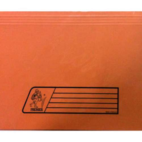 Premier Document Wallet Full Scape Size, 300Gsm, Orange Colour