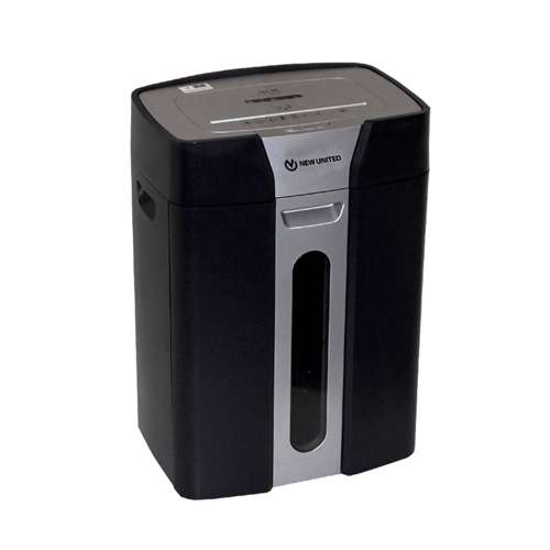 New United Shredder Machine ST-12C-CROSS CUT - Black/Silver