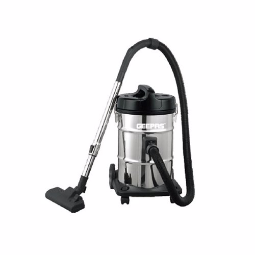 Geepas GVC2597 Stainless Steel Drum Vacuum Cleaner, 2300W