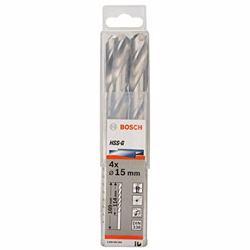 Bosch HSS G Drill Bit 15Mm(4Pcs) - 2608585594
