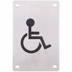 Washroom/Toilet Sign Plate Handicap preview