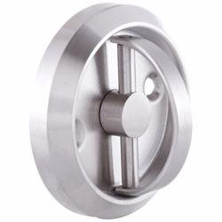 Furniture Sliding Inset/Flush/Concealed Round Door Handle - Drawer/Cabinet/Closet preview