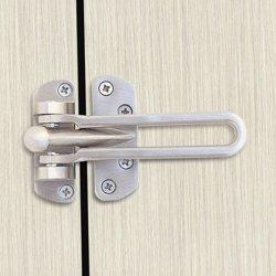 Dorfit DTDG001 Security Door Guard Swing Arm, Silver preview