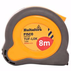 Fisco Tk8M 8Metabor Metric M.Tape 25Mm Bld