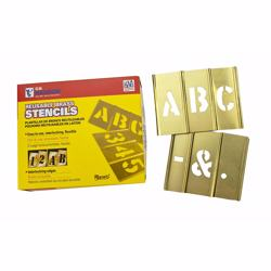 Hanson Stencil 3 33 Peices Letter Set [10033]