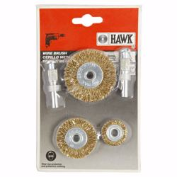 Hawk Brush Set 5Pcs - 600025-9009