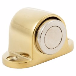 Dorfit DTDS031 Zinc Magnetic Door Stopper Floor Mounted, Gold