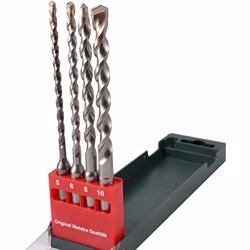 Metabo Drill Bit Carbide Tip 4Pc Set- 625580000
