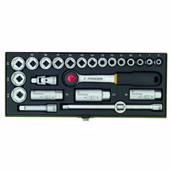 "Proxxon 23110 Socket Set 3/8"" 24Pcs"