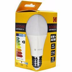 Kodak Led Bulbs Globe A60 E27 6W - Warm Glow