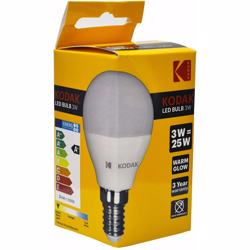 Kodak Led Bulb Golf G45 E14 3W - Warm Glow