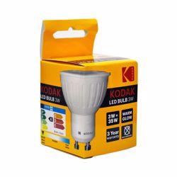 Kodak Led Bulb Spot Gu10 3W - Warm Glow