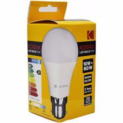 Kodak Led Bulbs Globe A60 B22 10W - Warm Glow