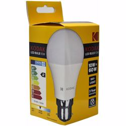Kodak Led Bulbs Globe A60 B22 10W - Daylight